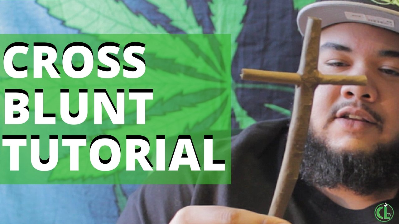 How to Roll a Cross Blunt